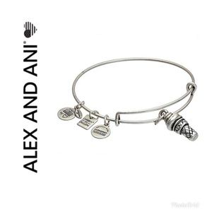 Alex and Ani ice cream bracelet